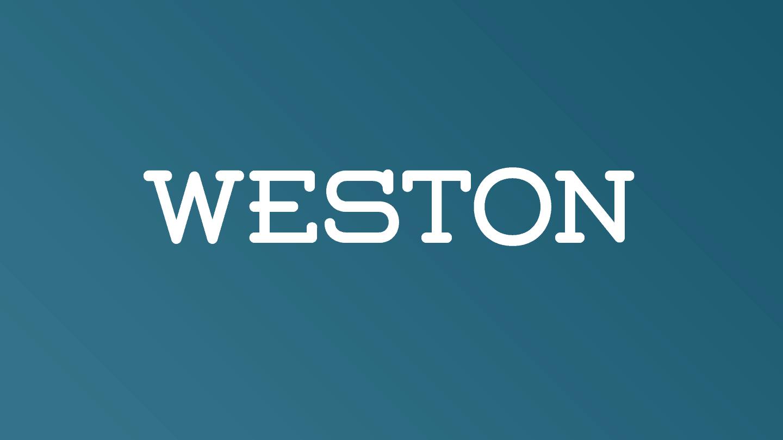 Download Weston font (typeface)