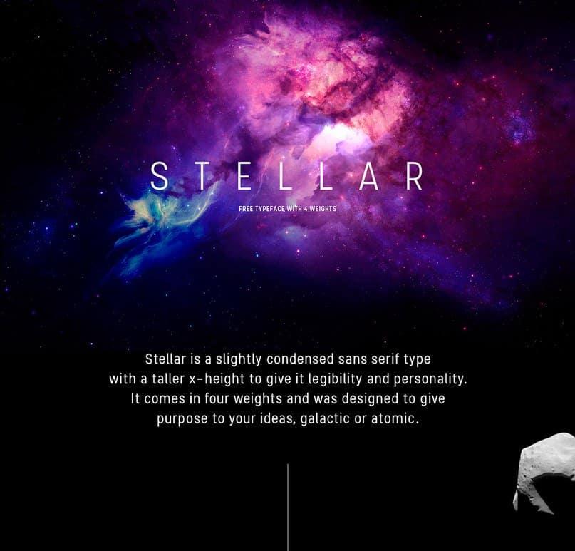 Stellar Font Free Download • AllBestFonts.com