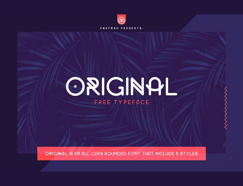 Download Original font (typeface)