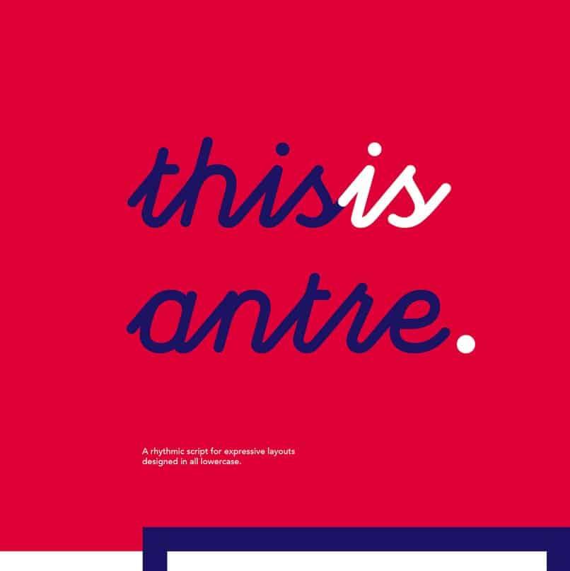 Download Antre font (typeface)