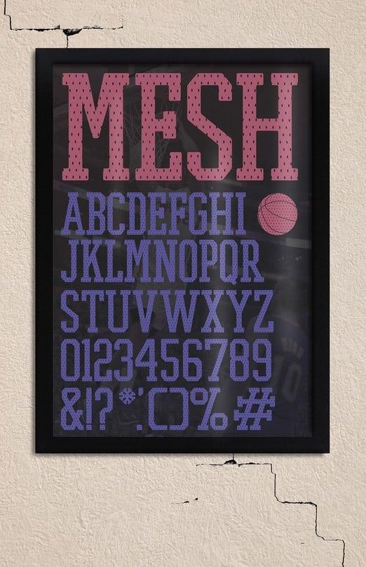 Download Promesh font (typeface)