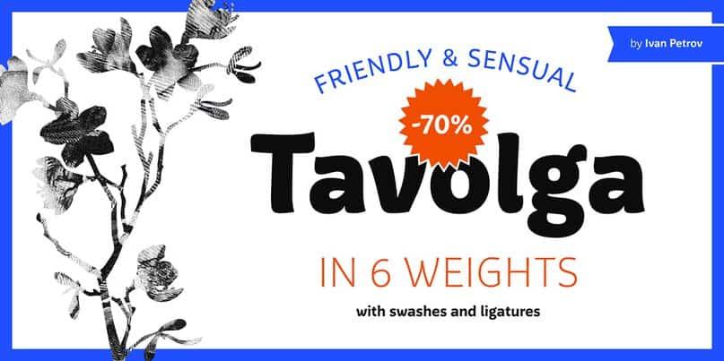 Download Tavolga font (typeface)