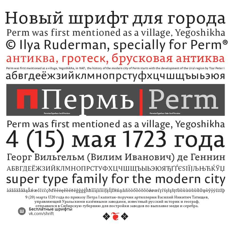 Download Permian font (typeface)