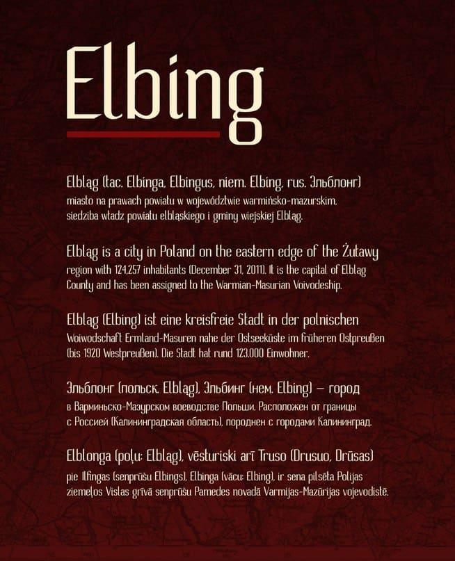 Download Elbing font (typeface)