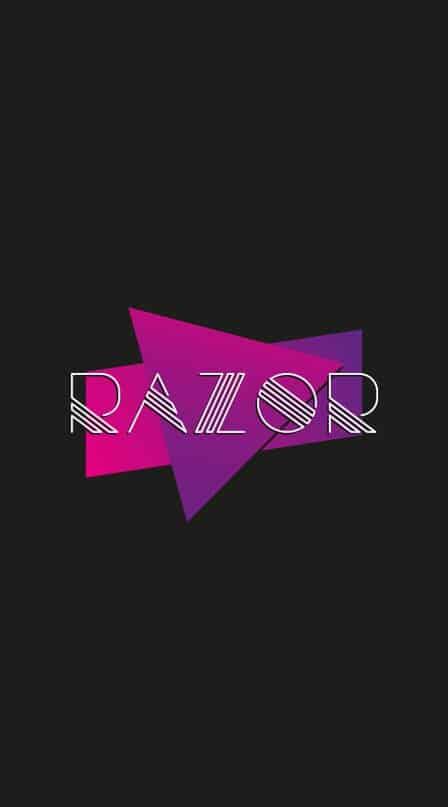 Download Razor sample font (typeface)
