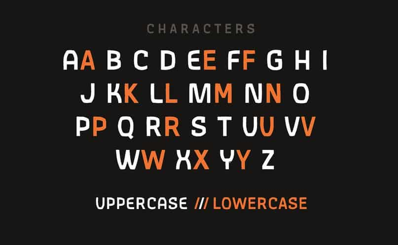 Download Gothic AX Hand Regular font (typeface)