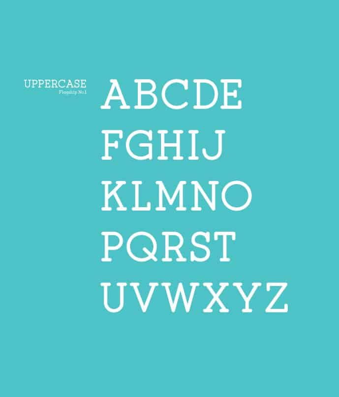 Download Flagship Slab font (typeface)