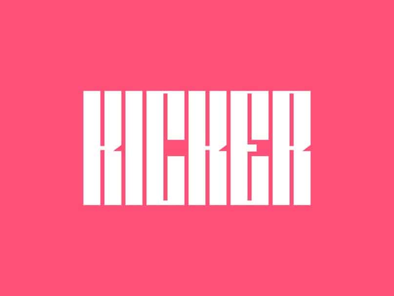 Download Kicker font (typeface)