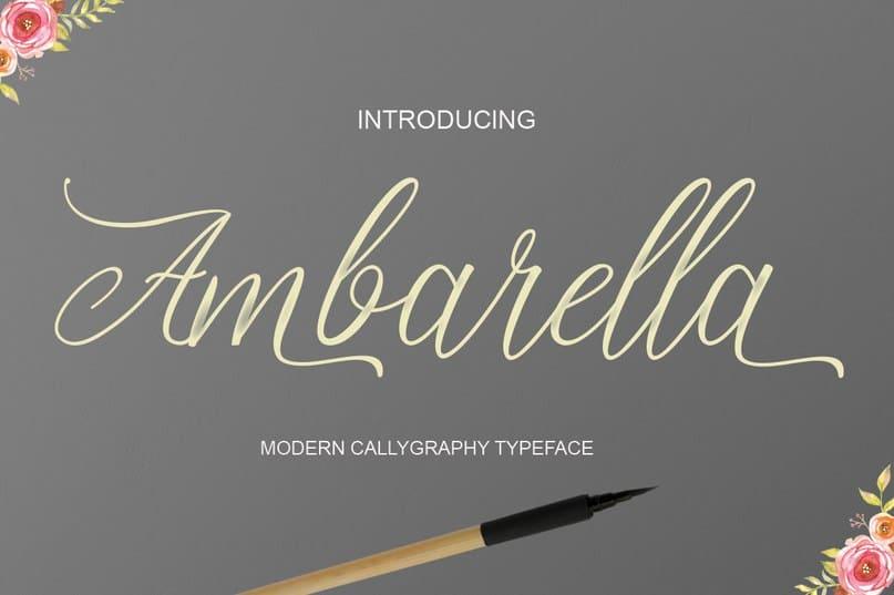 Download Ambarella font (typeface)