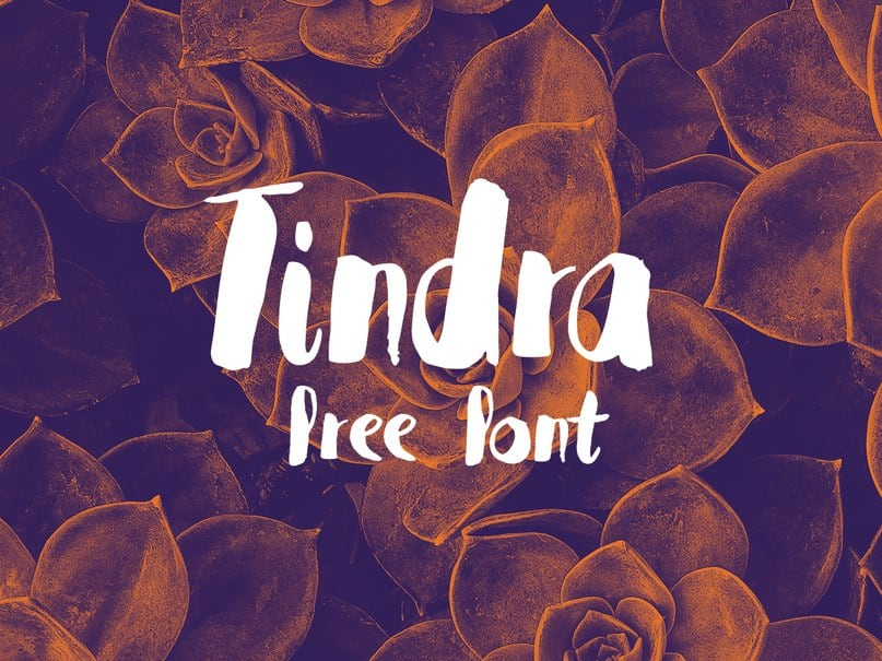 Download tindra font (typeface)