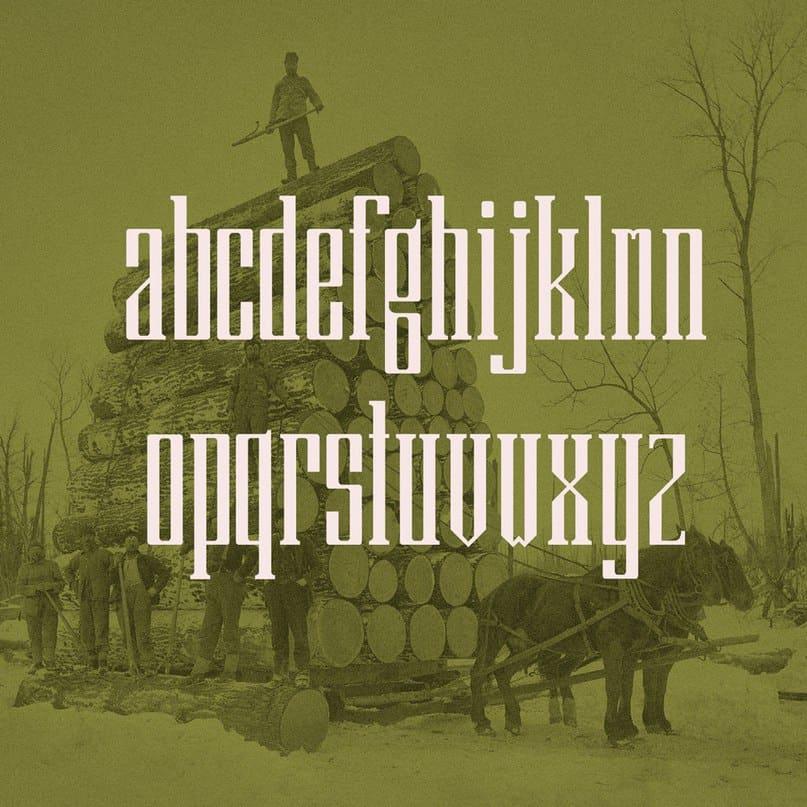 Download Barker COM font (typeface)