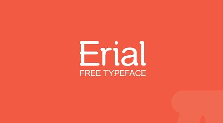 Download Erial font (typeface)