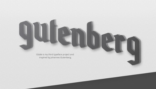 Download odale font (typeface)