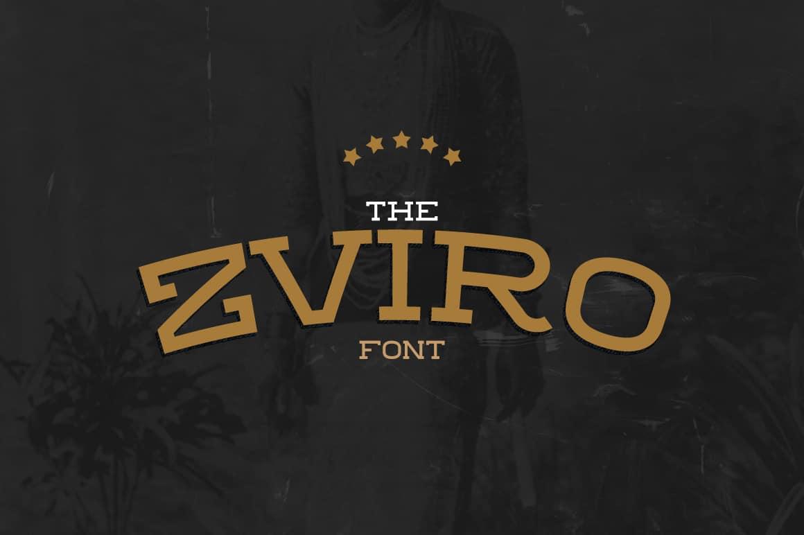 Download ZVIRO font (typeface)
