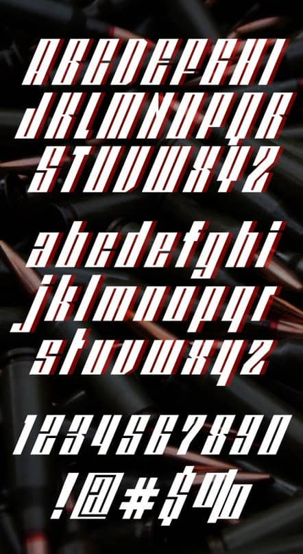Download redpower font (typeface)