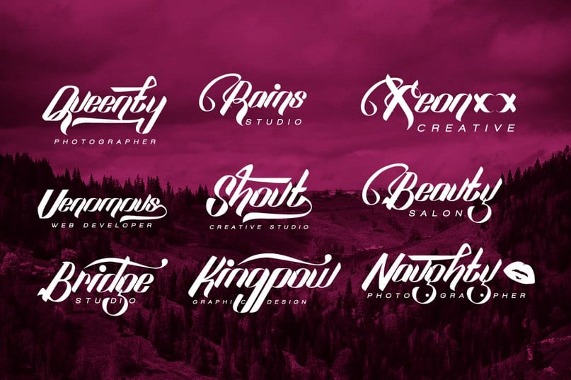 Download sexy shout font (typeface)