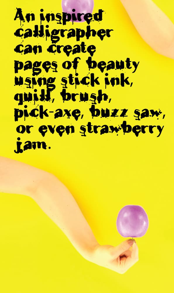 Download Teardrop PRO font (typeface)