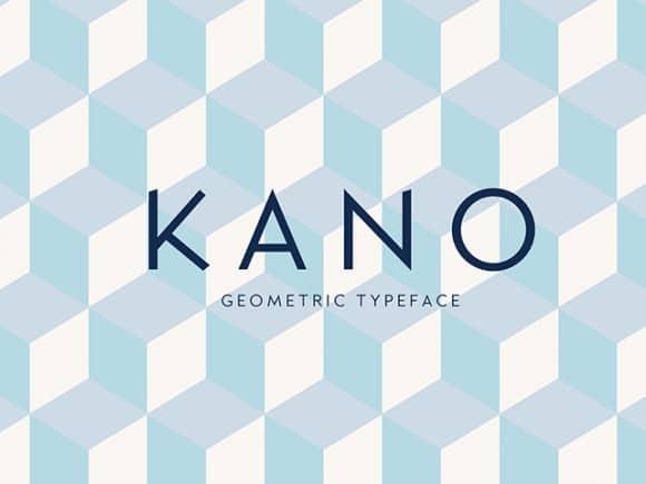 Download Kano Regular font (typeface)