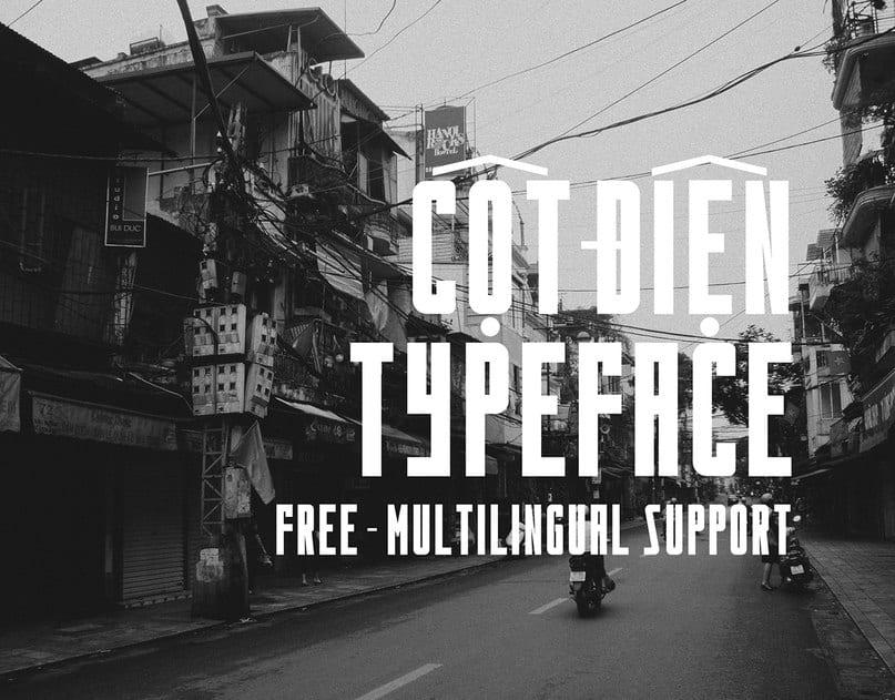 Download Cotdien font (typeface)