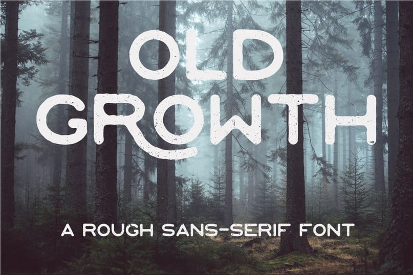 Download Old Growth Regular font (typeface)