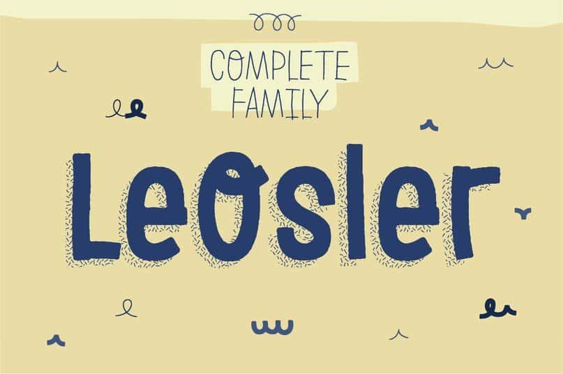 Download leosler font (typeface)