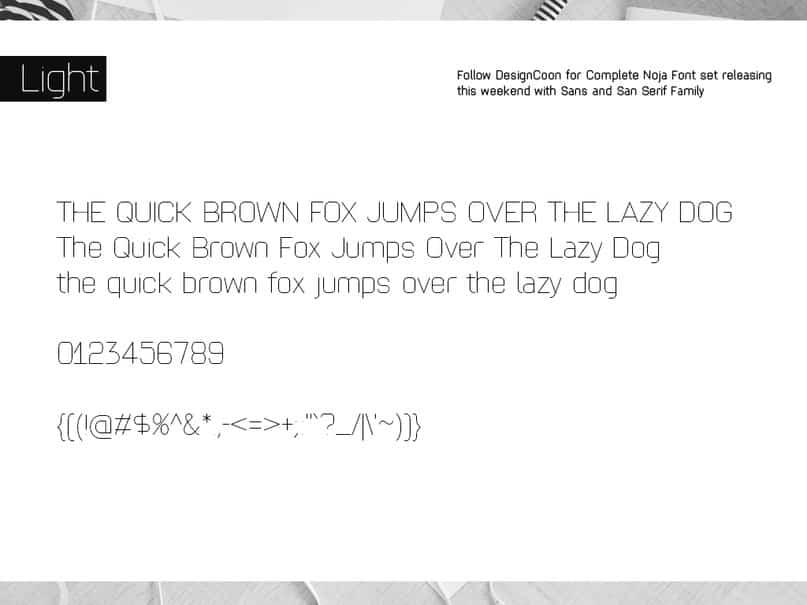 Download Noja Round font (typeface)