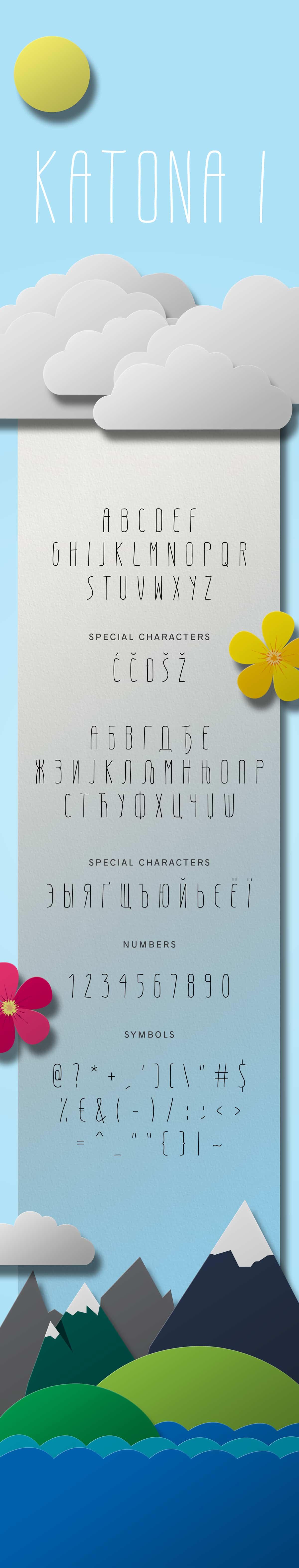 Download Katona font (typeface)