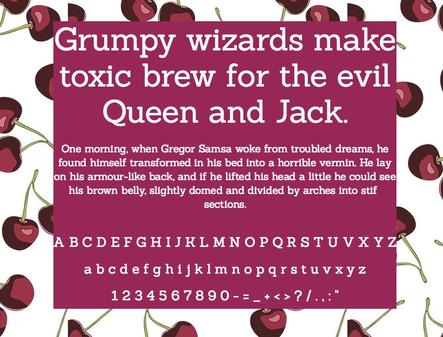 Download Sanchez font (typeface)