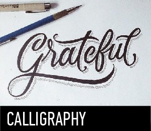 Download TOP 5 fonts for calligraphy font (typeface)