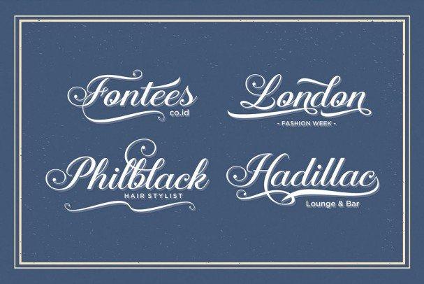 Download Aaron Script font (typeface)
