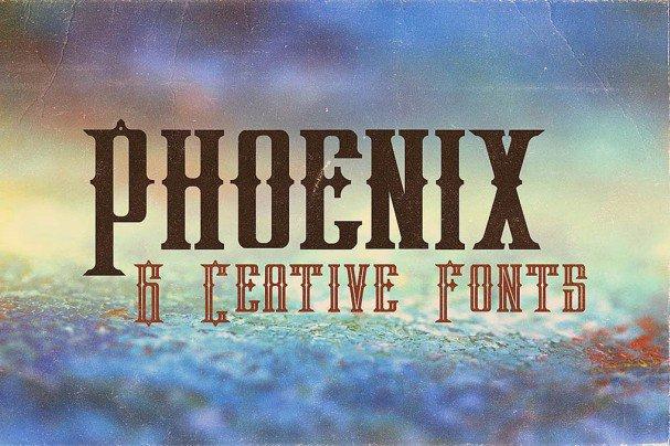Download Phoenix Typeface font (typeface)