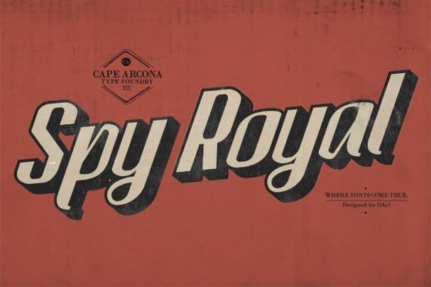 Download CA Spy Royal font (typeface)