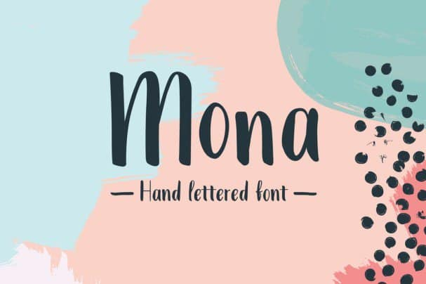 Download Mona Extended font (typeface)