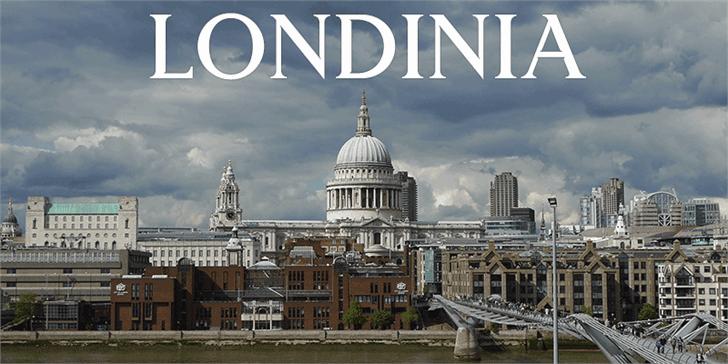 Download Londinia Medium font (typeface)
