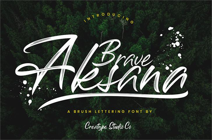 Download Aksana font (typeface)