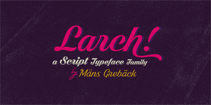 Download Bright Larch font (typeface)