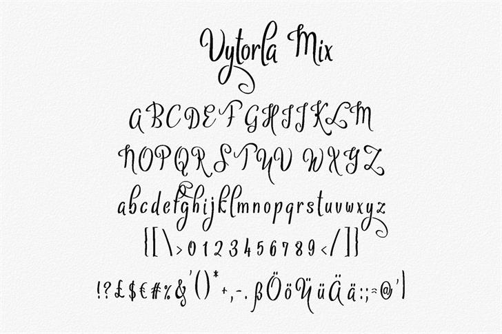 Download Vytorla font (typeface)