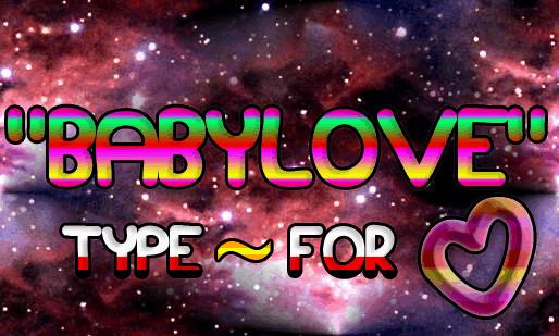 Download Babylove font (typeface)