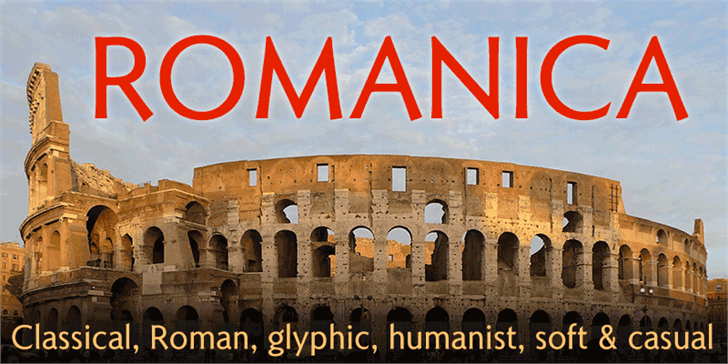 Download Romanica font (typeface)