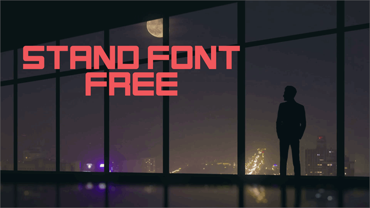 Download Stand font (typeface)