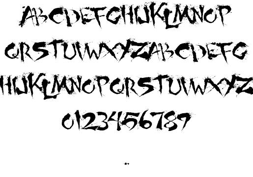 Download Shoguns Clan font (typeface)