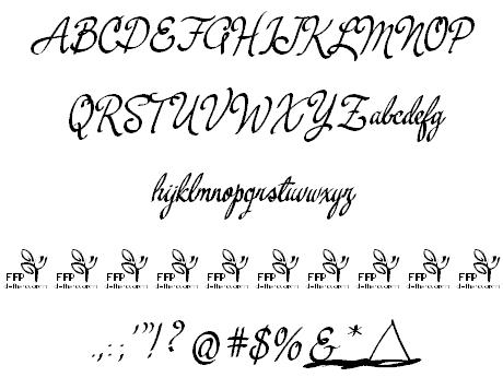 Download Yerbaluisa font (typeface)