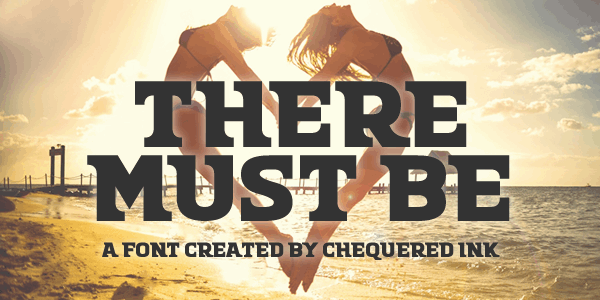 Download There Must Be font (typeface)