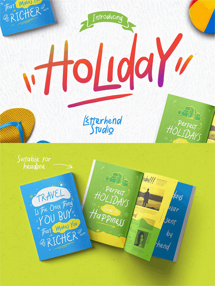 Download Holiday font (typeface)