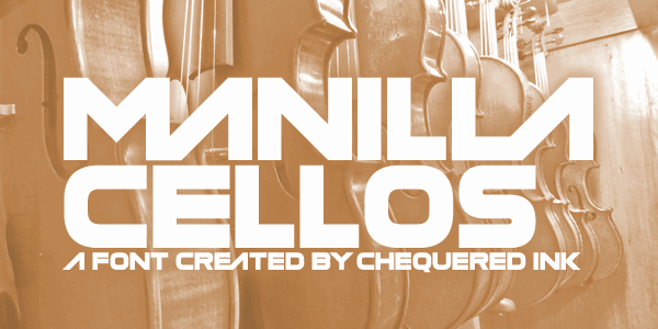Download Manilla Cellos font (typeface)