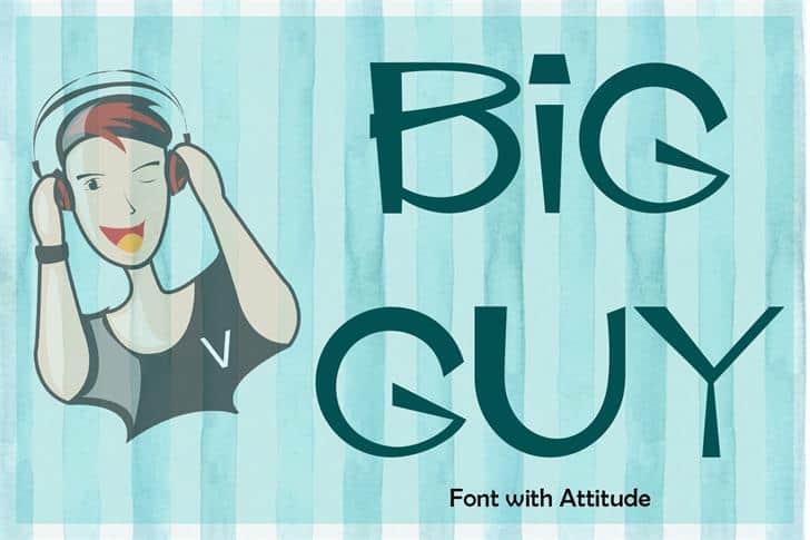 EP Big Guy шрифт скачать бесплатно