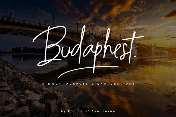 Download Budaphest font (typeface)