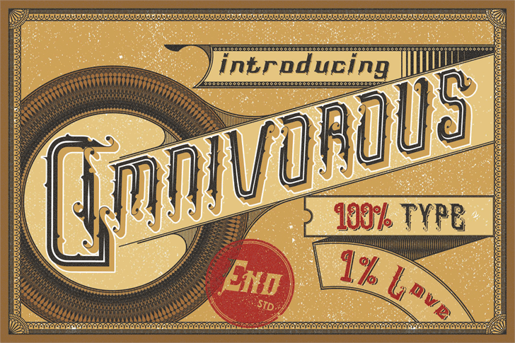 Download Omnivorous Regular 02 font (typeface)