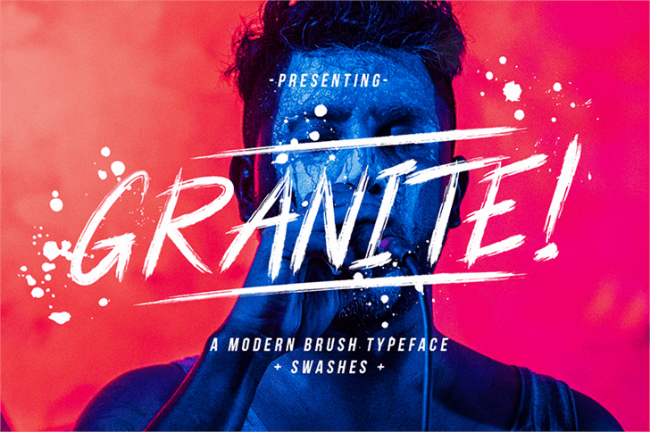 Granite шрифт скачать бесплатно