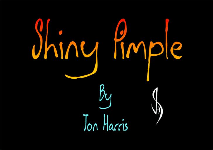Download Shiny Pimple font (typeface)